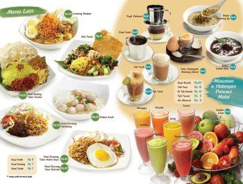 design menu makanan
