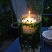 Windlicht für den Garten oder Terrasse - selbst gemacht