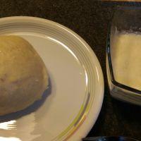 Feine Kartoffelsuppe mit Dampfnudeln - so liewwe mer des