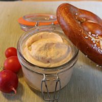 Frischkäsedip lecker, leicht und schnell gemacht