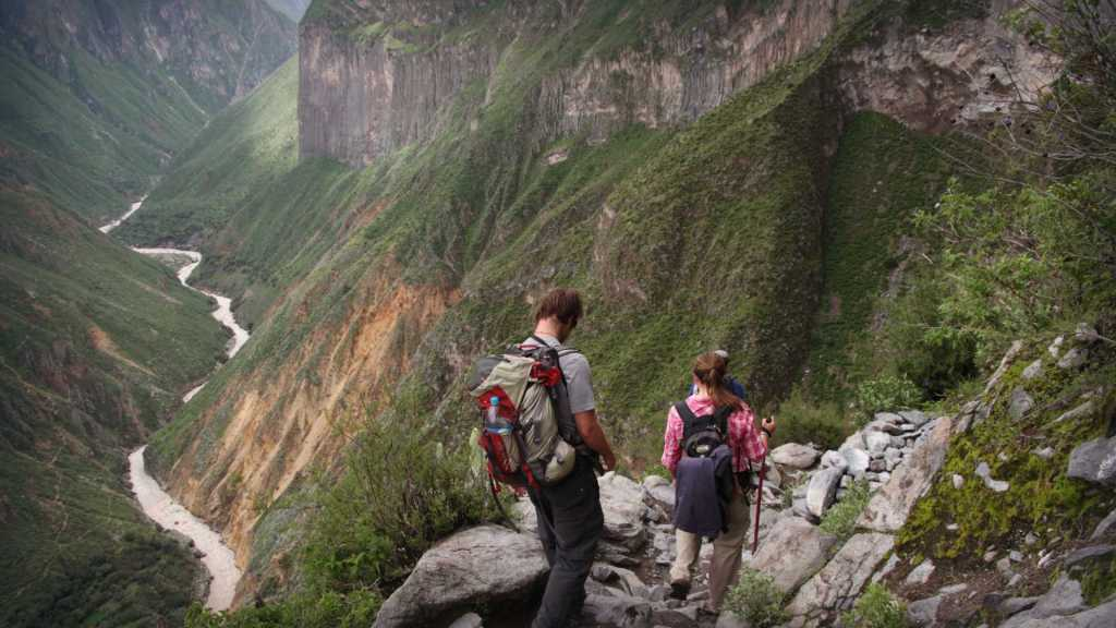 Views on the Colca Canyon Trek in Arequipa