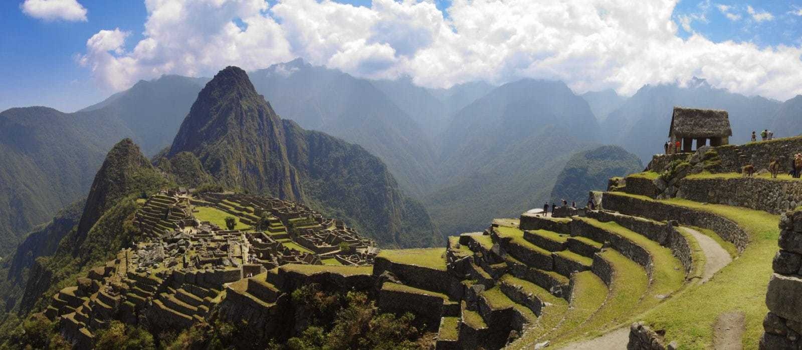 Panoramic View of Machu Picchu