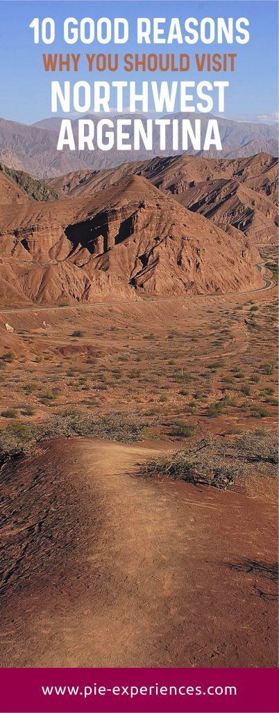 Visit Northwest Argentina - Pinterest image