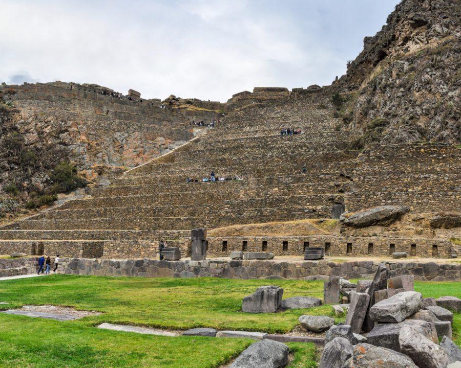 Ruins of the ancient city of Ollantaytambo