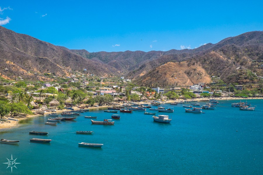 Colombia travel guide - Taganga beach.
