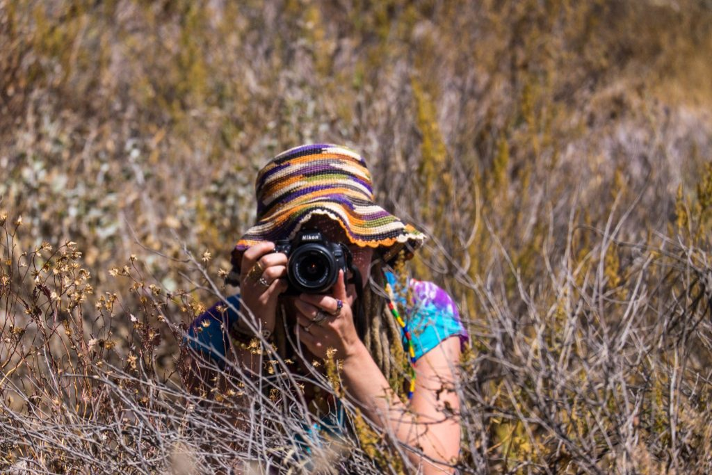 Colca Canyon trek - Photography in the fields.