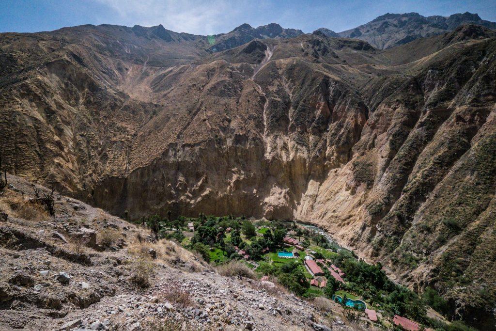 Colca Canyon trek - Sangalle.