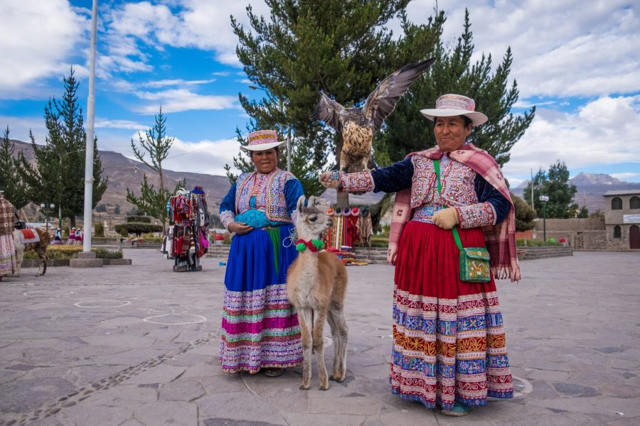 Homestay tours in the Colca Canyon - Collagua women of Yanque.