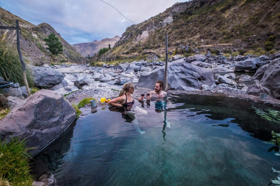 Homestay tours in Colca Canyon - Hot springs in the Colca Valley.