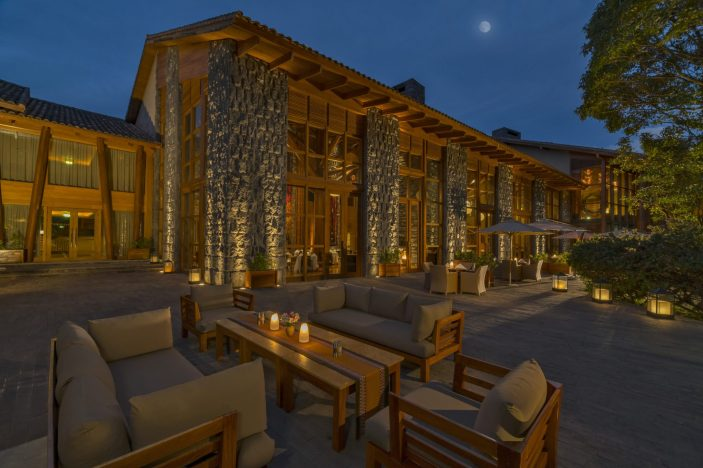 Beautiful hotel.