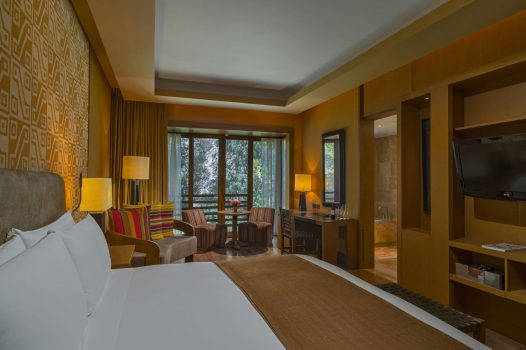 Luxury hotels in Sacred Valley - Superior room at Tambo del Inka Libertador.