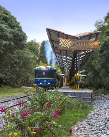 Luxury hotels in Sacred Valley - Private train station at Tambo del Inka.