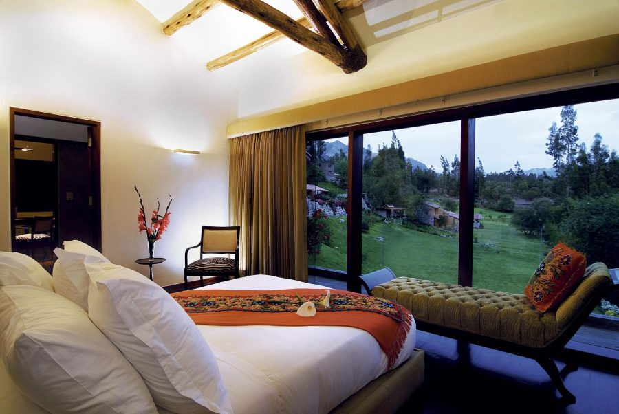 Luxury hotels in Sacred Valley - Belmond Rio Sagrado suite.