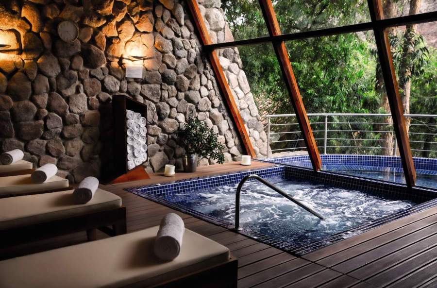 Luxury hotels in Sacred Valley - Spa at Belmond Rio Sagrado.