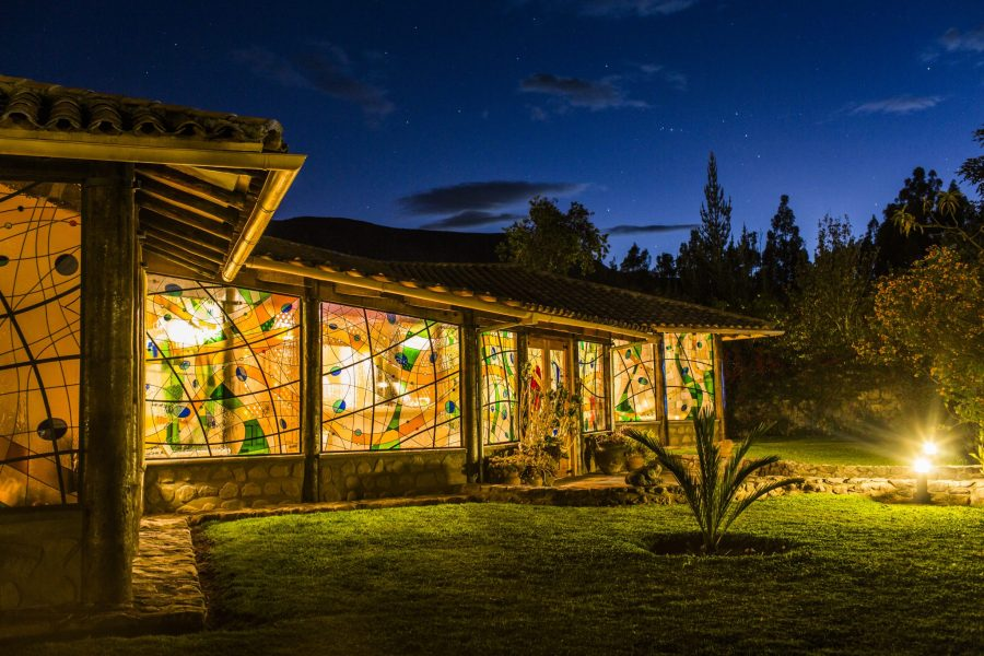 Luxury hotels in Sacred Valley - The spa centre at Sol y Luna.
