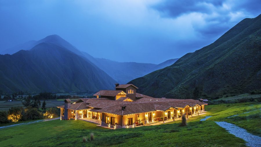 Luxury hotels in Sacred Valley - Inkaterra Hacienda Urubamba.