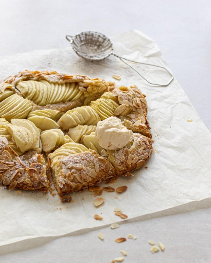 גאלט תפוחים, שקדים ודבש