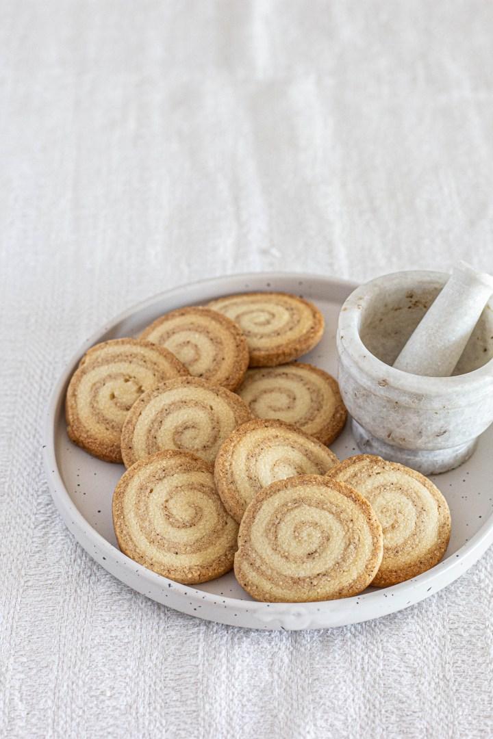 עוגיות ספירלה צ'אי