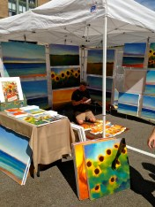 Boston SoWa Market Paintings