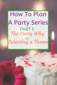 Plan a party Theme