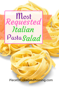 Most Requested Pasta Salad