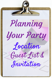 Planning Your Party