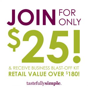 Join Tastefully Simple