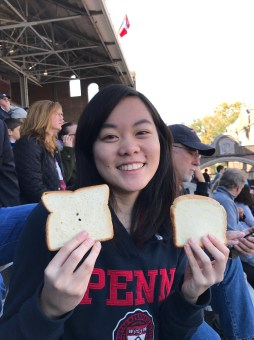 Completed my favorite Penn tradition during the Homecoming game!