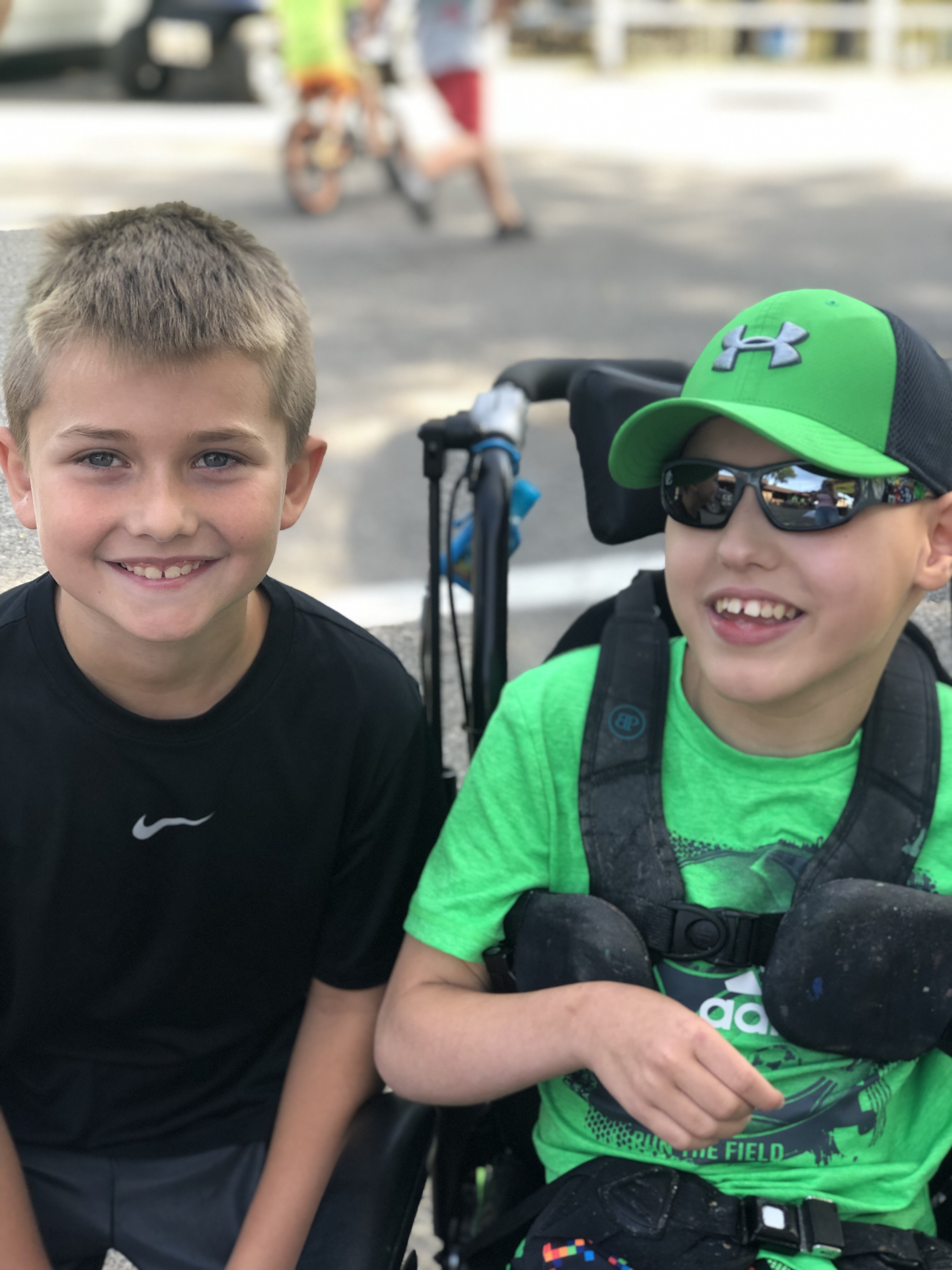 Family and Friends to those with Disabilities Find the Reasons to Be Thankful