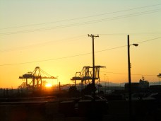 Port of Oakland or Star Wars Set