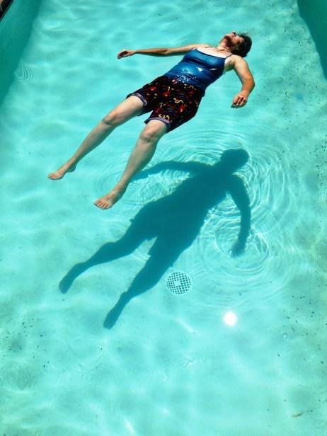 Kit in the Pool