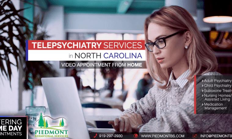 Telepsychiatry in North Carolinia-Piedmont behavioral Services