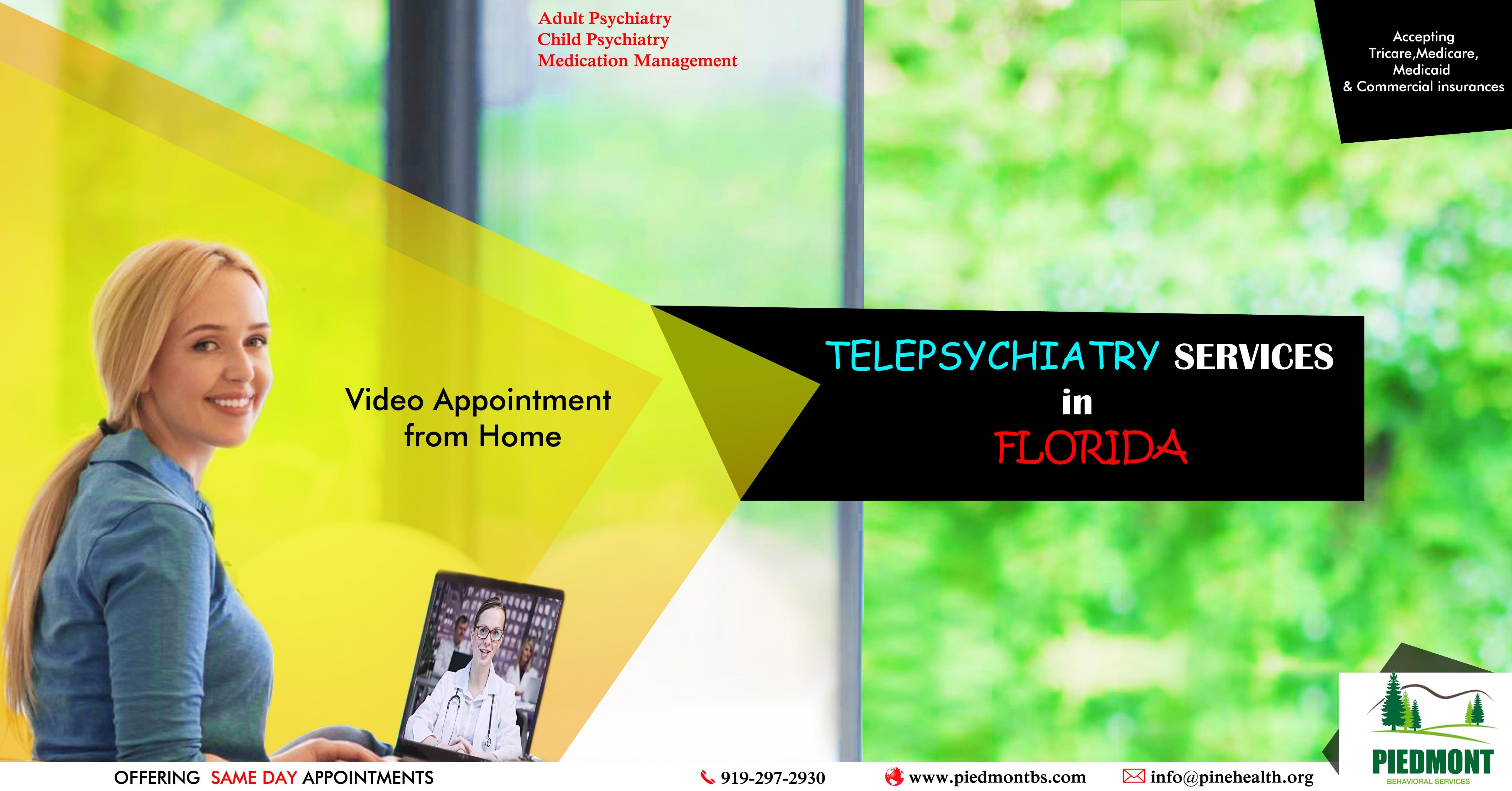 Psychiatrist Florida. Piedmont Behavioral Services