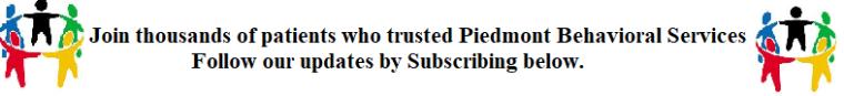 Subscribe-Piedmont Behavioral Services