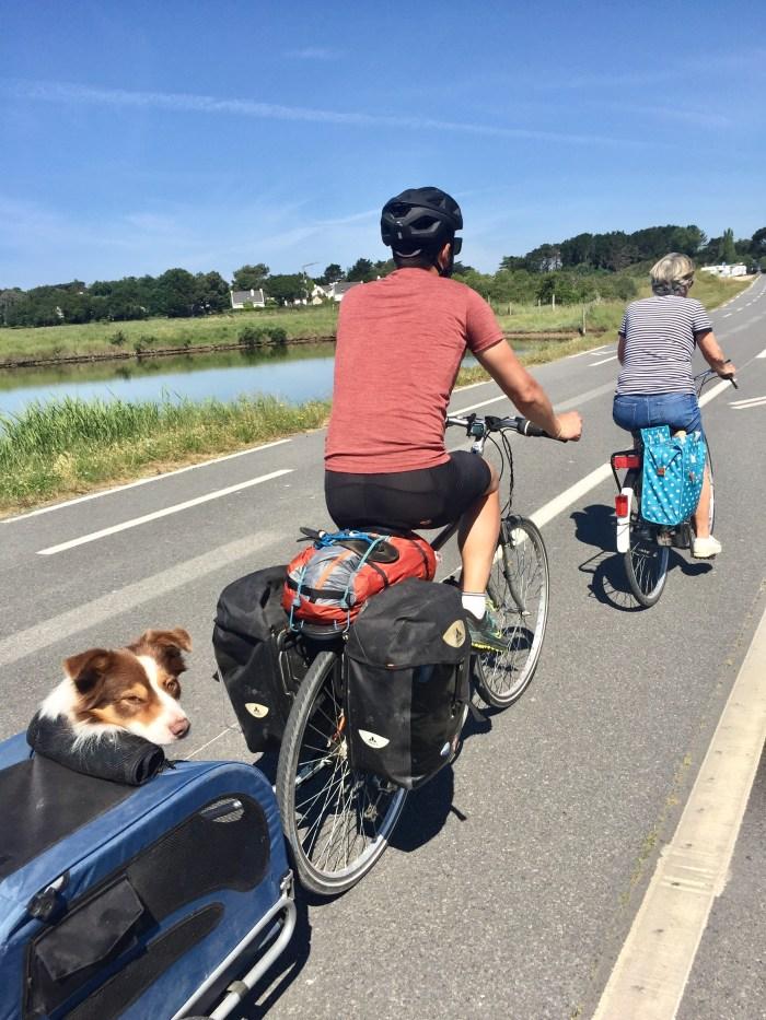kerkabellec quimiac randonnée vélo vélocean