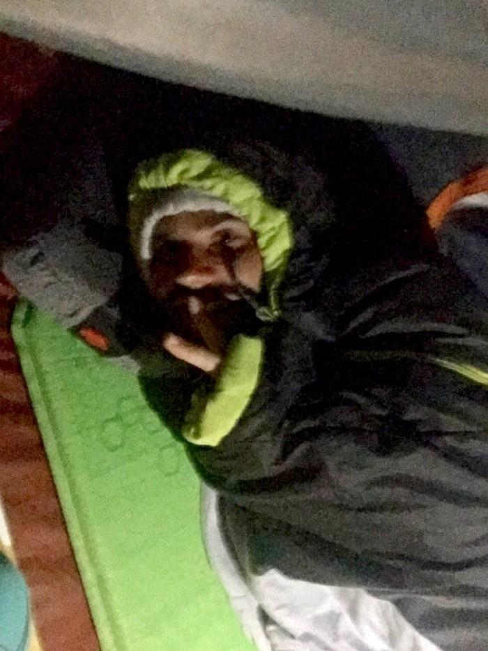 bonne nuit sous tente