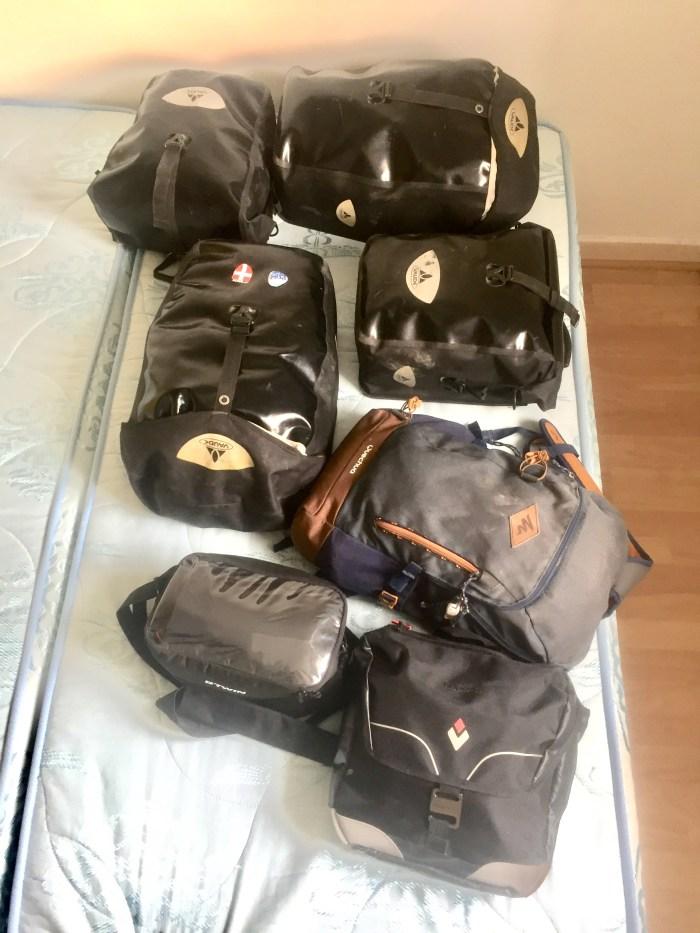 sacs voyage velodyssee avec un chien voyage velo