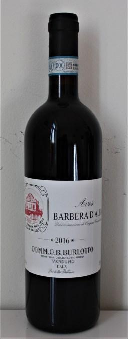 Wine of the Week Burlotto Aves