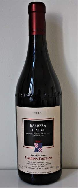 wow cascina fontana barbera