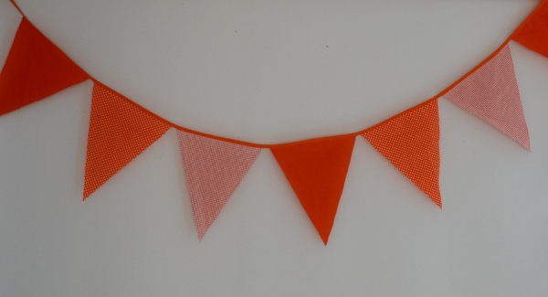 Bunting – All About Orange