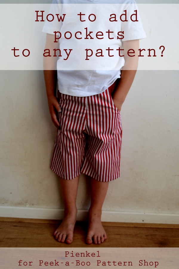 How to add pockets to any pattern