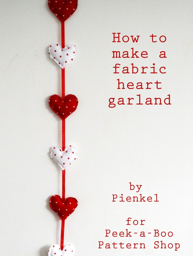 Heart Garland Tutorial – Contributor Post for Peek-a-Boo Pattern Shop