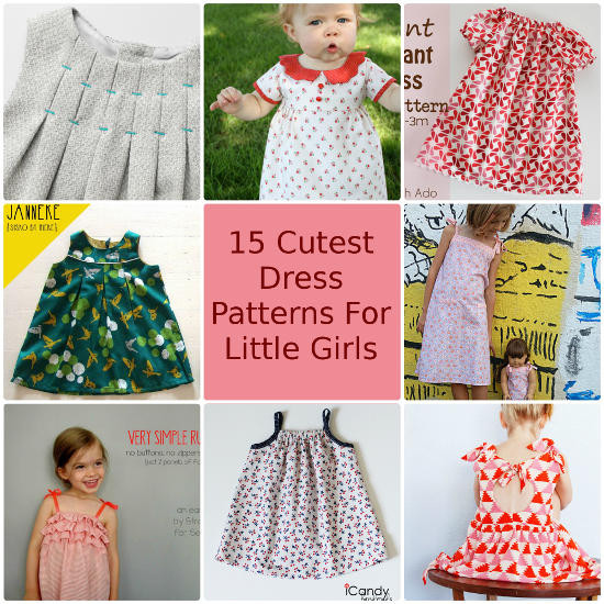 15 Cutest Free Dress Patterns for Little Girls – So Sew Easy Contributor Post