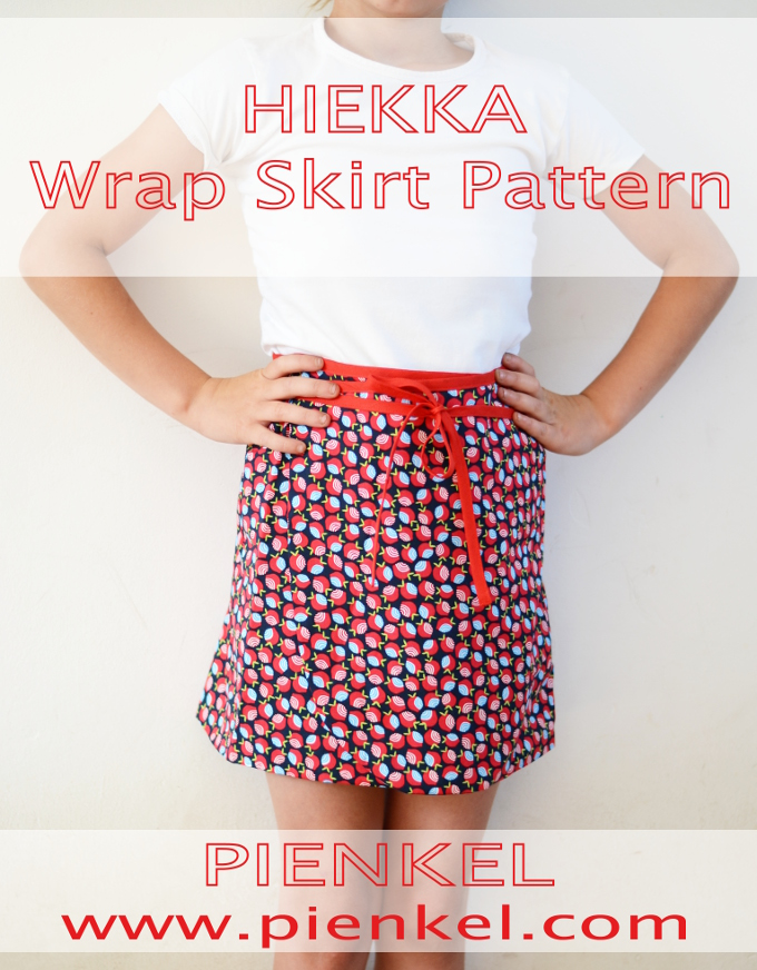 HIEKKA Wrap Skirt Pattern Release