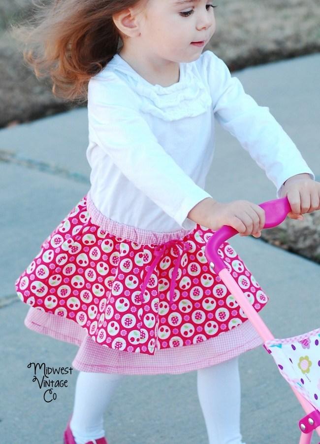Baby DYYNI Skirt – Free Pattern!