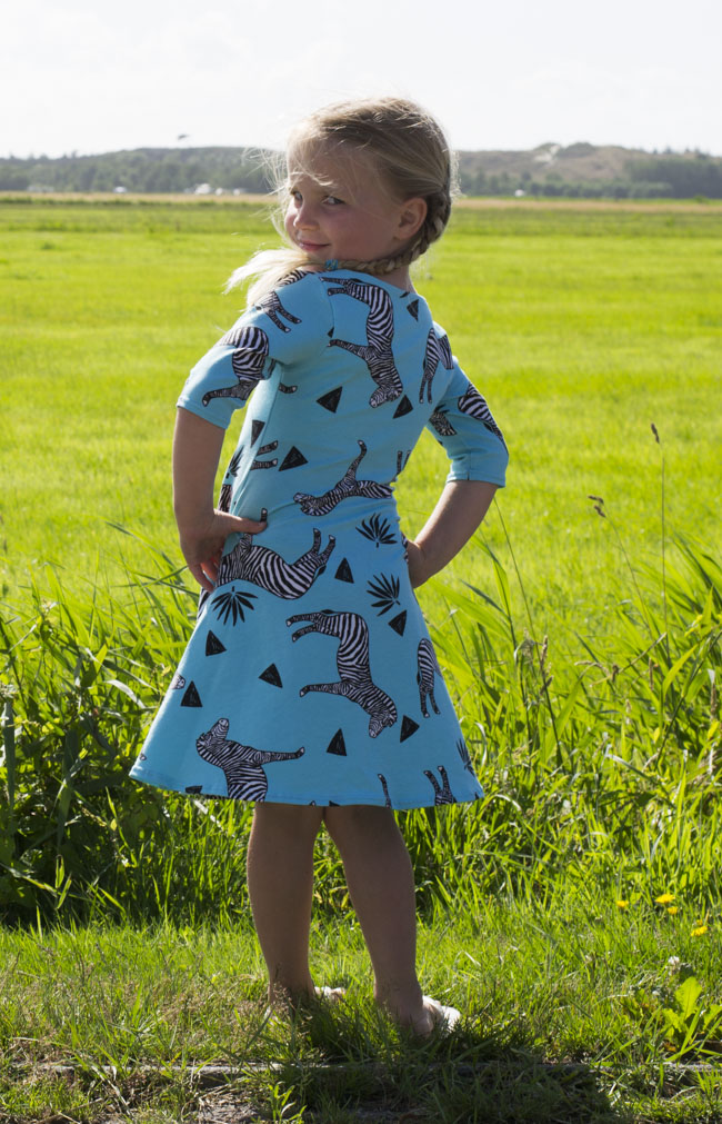 Zebra Uptown Downtown Dress - Sewn by Pienkel