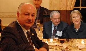 Bachelet, Tellier invitados por Rockefeller