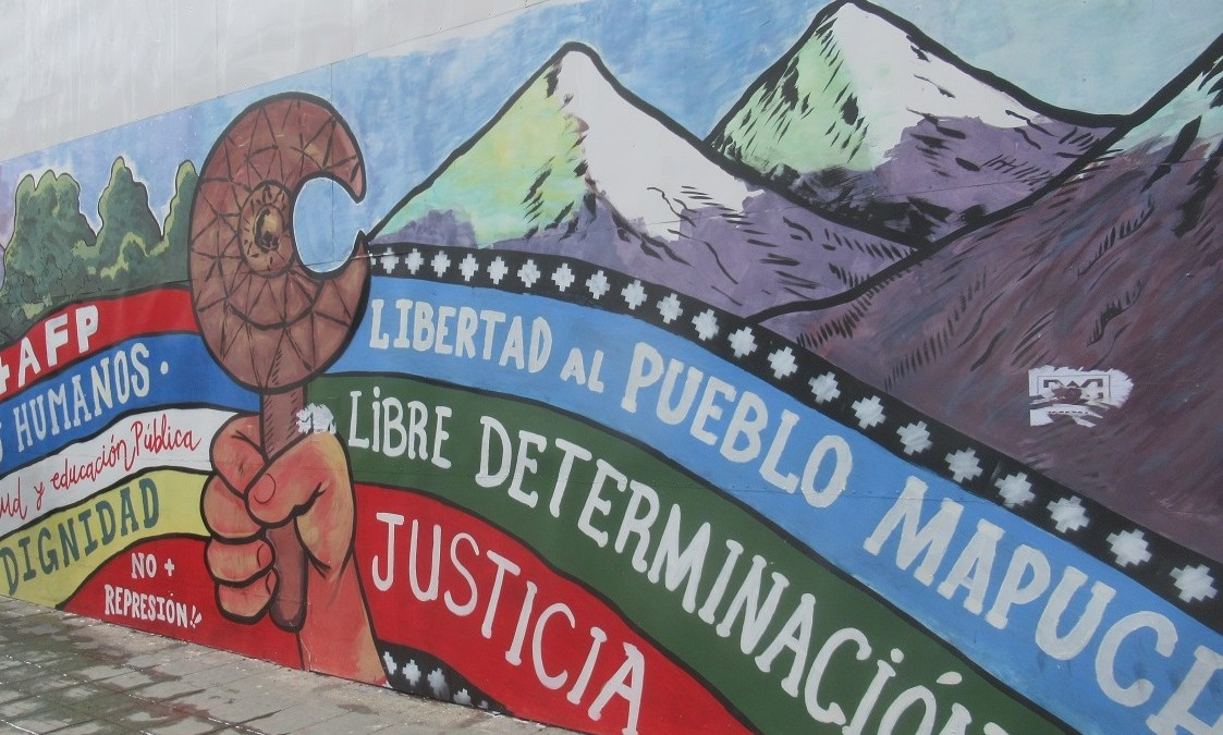 Coñaripe: Manifestación por la vida y la libertad de los Presos Políticos Mapuche