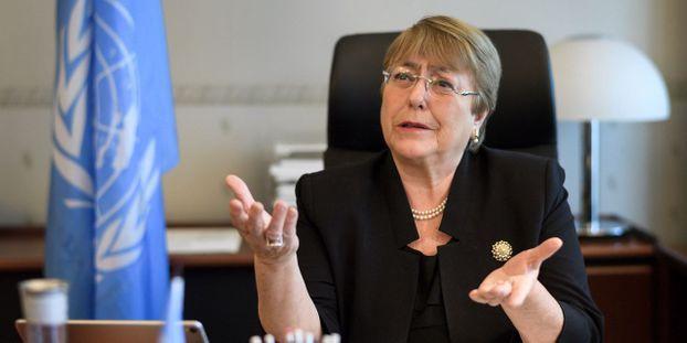 Bachelet, como Alta Comisionada para los DD.HH. no ve, no oye, no se pronuncia sobre la tragedia que vive el pueblo saharaui