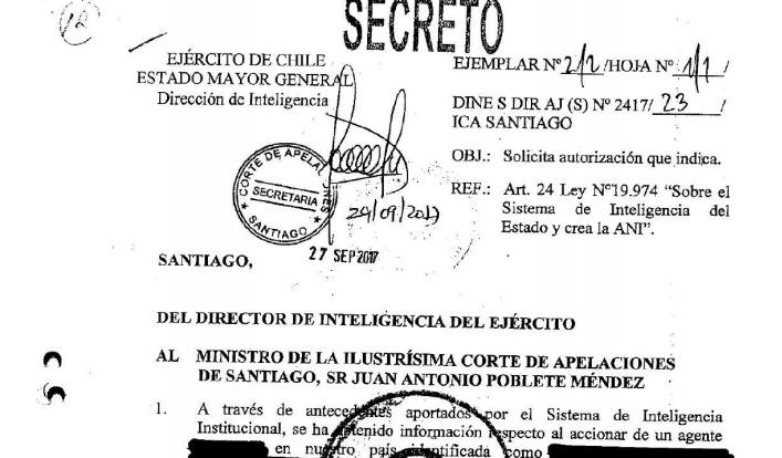 Espionaje del Ejército a Mauricio Weibel: Fiscalía indaga monitoreo militar a otros cinco periodistas